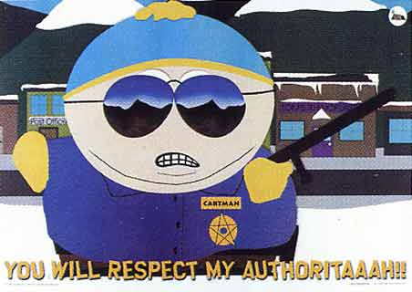 Respect My Authoritay!
